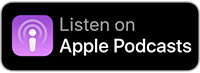 Listen on Apple podcasts logo